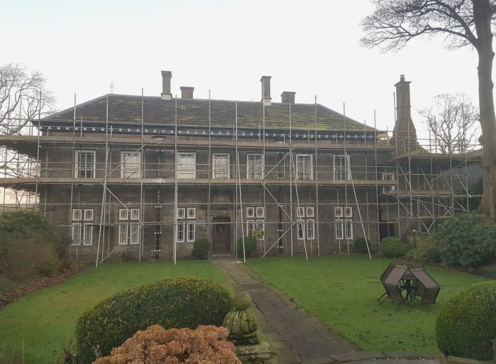 crown-scaffolding-manor-house
